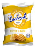 Saebrook Crisps 32 x 31gm Cheese & Onion